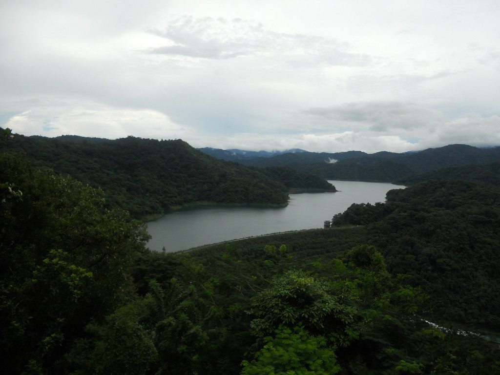 View of Angat Dam from San Lorenzo (Hilltop), Norzagaray, Bulacan.