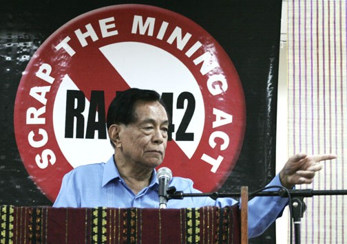 Former Senate President Aquilino 'Nene' Pimentel. Keith Kristoffer Bacongco / Wikipedia photo