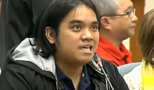 Pork barrel scam whistleblower Benhur Luy. Screenshot from InterAksyon/TV5