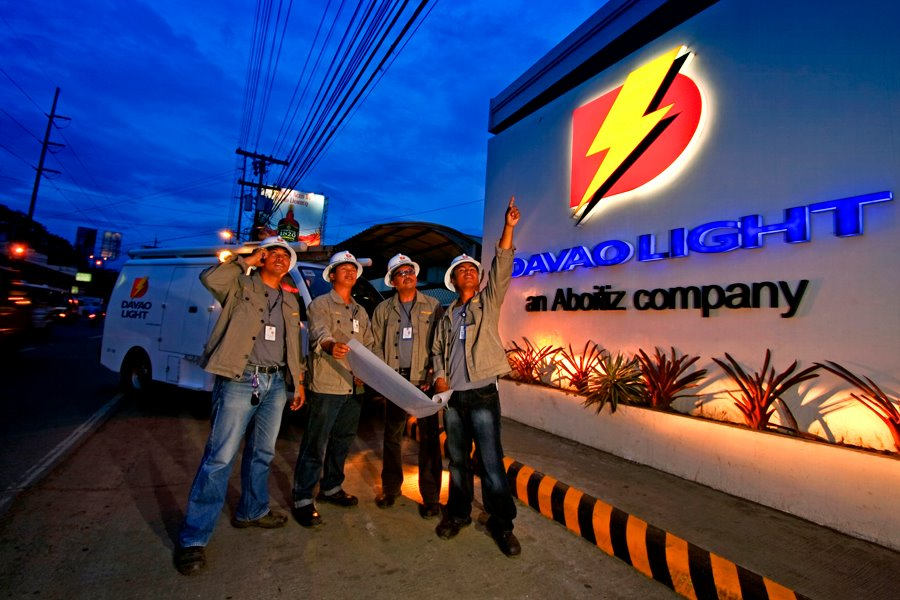 Photo courtesy of Davao Light and Power Company official Facebook page