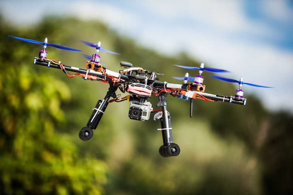 Drone violators may face civil penalties and criminal charges.(ShutterStock image)