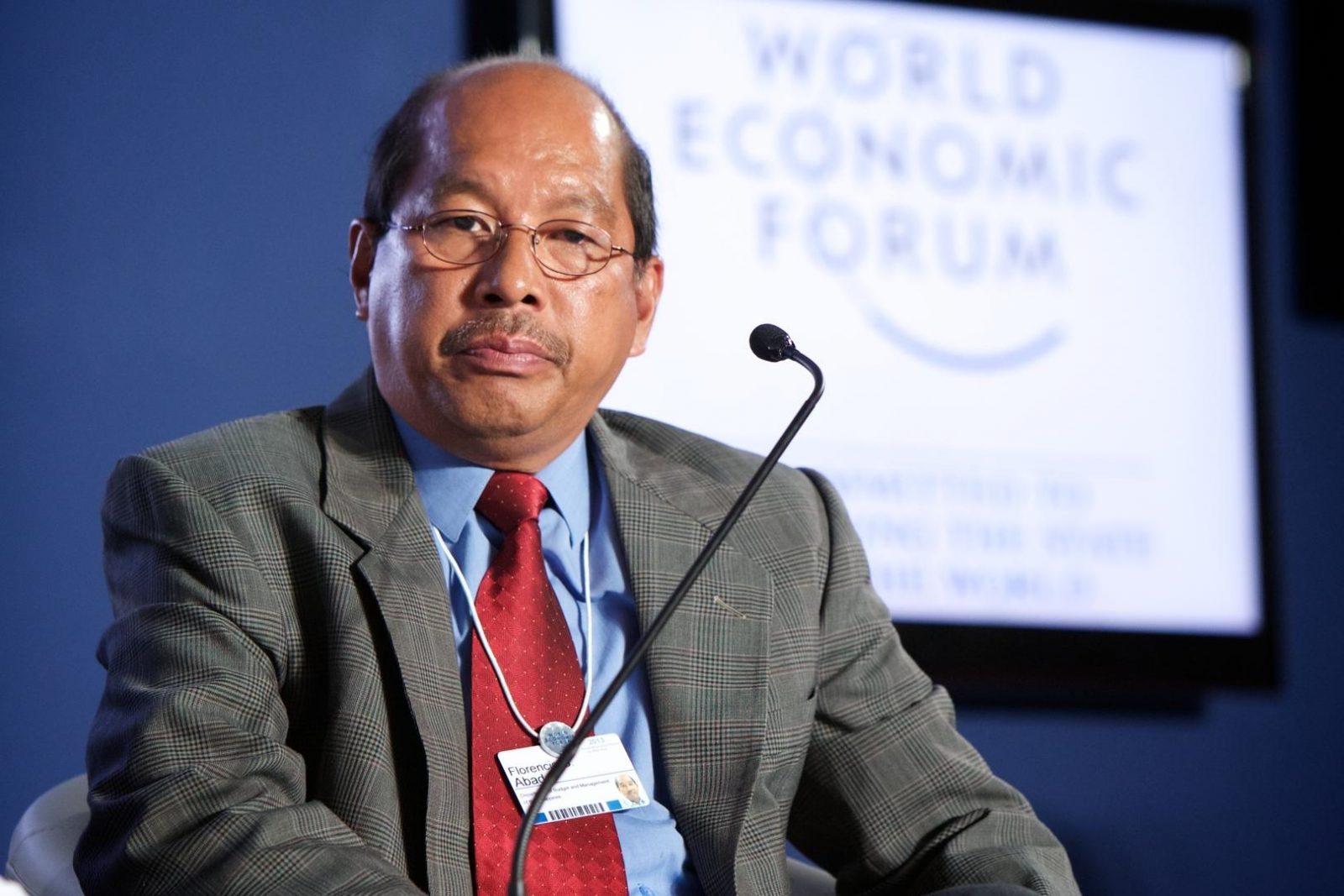 Budget Secretary Florencio Abad. Photo courtesy of the World Economic Forum 2014 / Fotopedia
