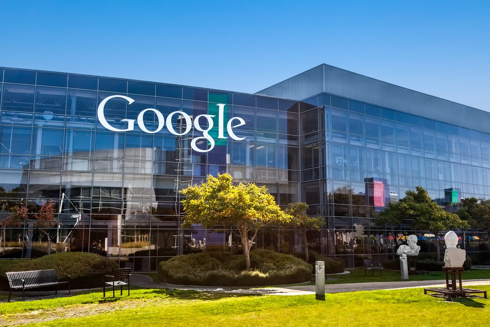 Google office in Mountain View, California (Shutterstock image)