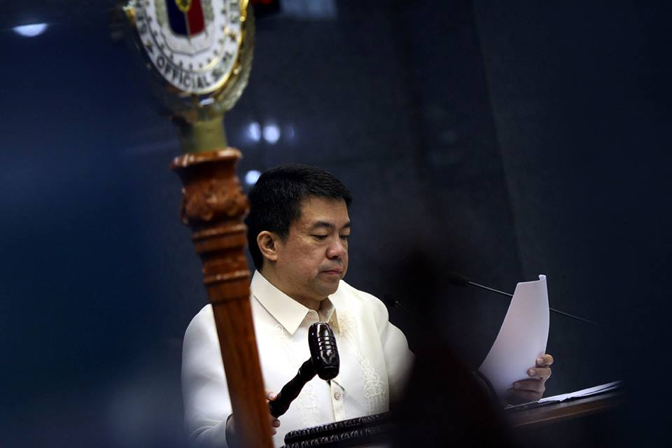 Sen. Aquilino 'Koko' Pimentel. Photo courtesy of Koko Pimentel's Facebook page.