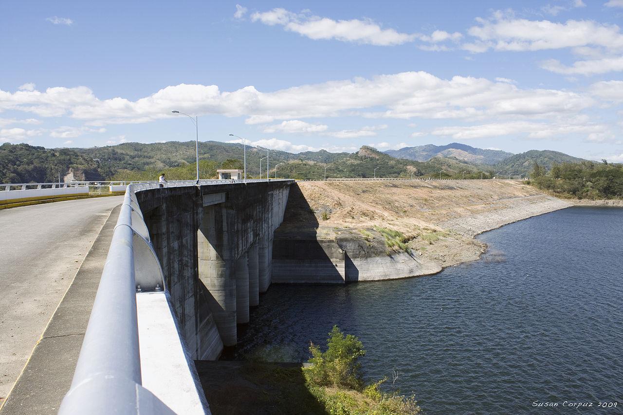 Pantabangan Dam in Nueva Ecija. Wikipedia photo by Susan Corpuz.