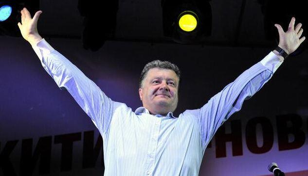 Ukraine president-elect Petro Poroshenko TWITTER FILE PHOTO