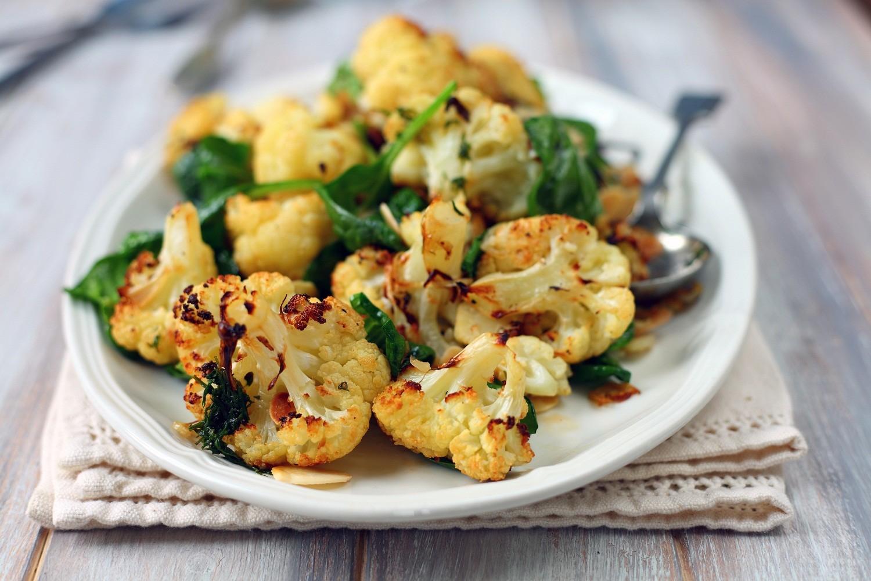 Roasted Cauliflower Salad. Photo by Magdanatka / ShutterStock