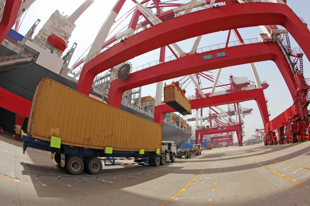 china container port