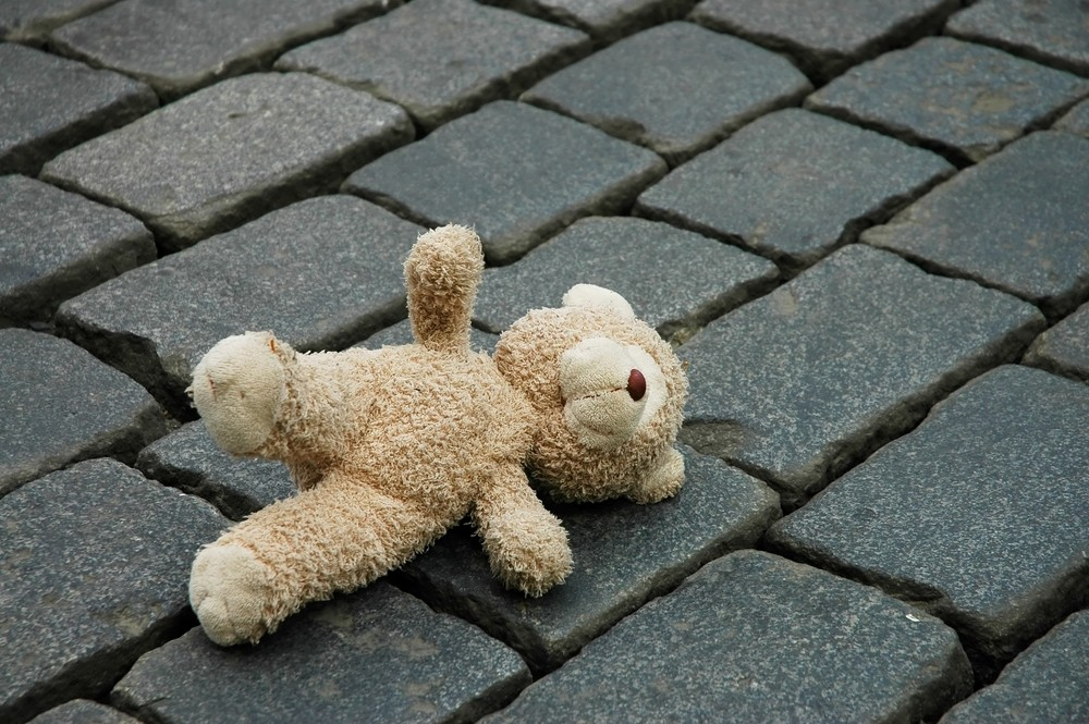 teddy bear child crime