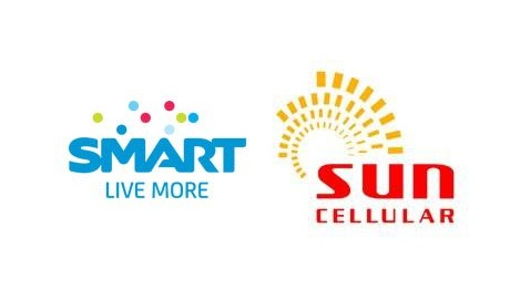 Two telecom big wigs: Smart and Sun Cellular