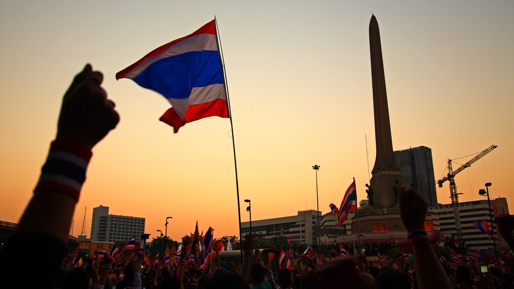 Thai protests file photo. Blanscape / Shutterstock