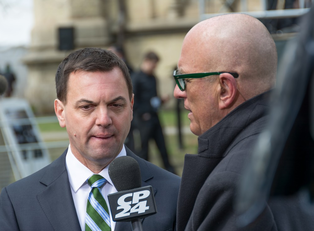 Tim Hudak, leader of the Progressive Conservativ Party. rmnoa357 / Shutterstock