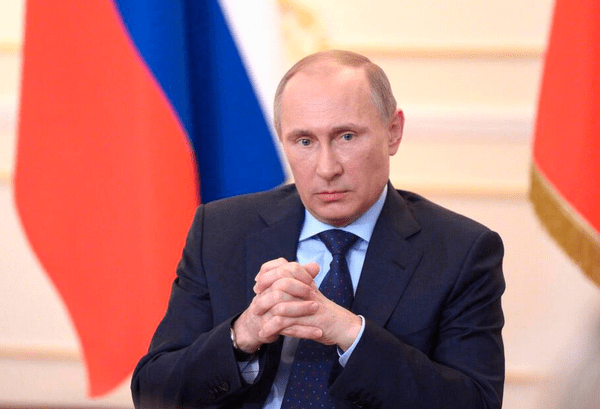 Russian President Vladimir Putin. Twitter photo courtesy of Corbis.