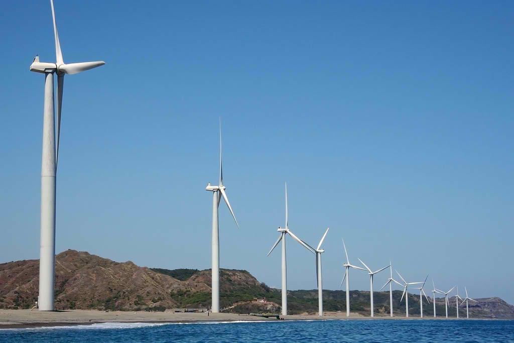 The Bangui Wind Farm in Ilocos Norte / Wikipedia Photos