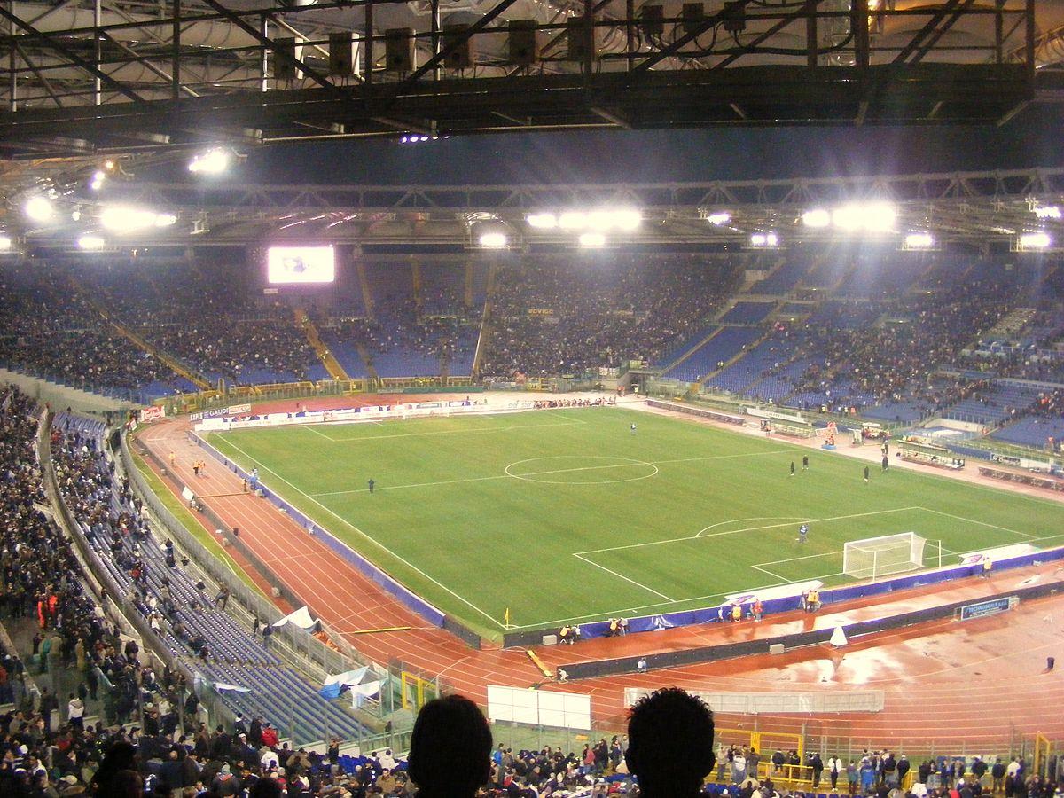Turin's Stadio Olimpico. Photo by Andrew / Wikimedia Commons.