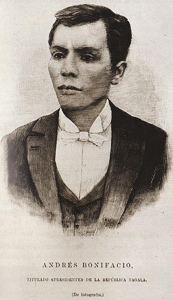 Andres Bonifacio (Wikipedia photo)