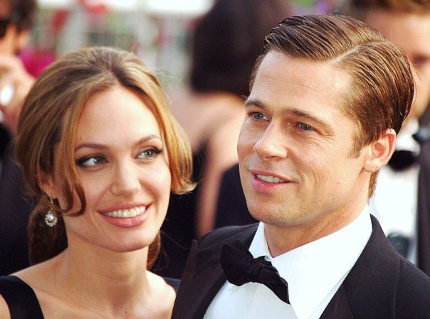 Angelina Jolie and Brad Pitt in Cannes 2007. Wikipedia photo