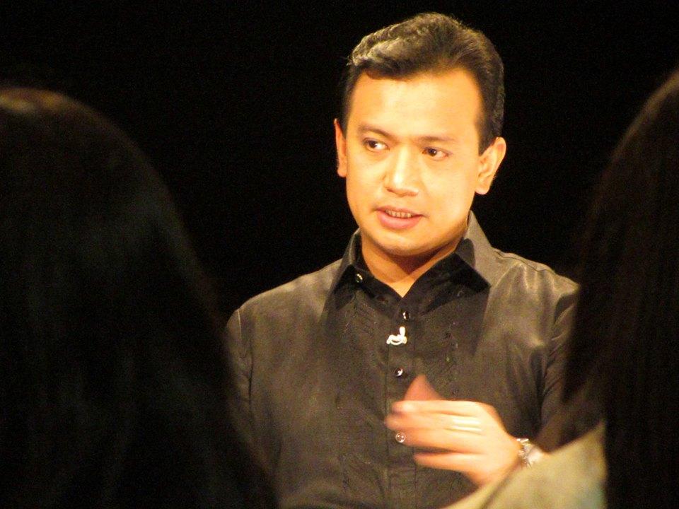 Sen. Antonio Trillanes IV. Photo courtesy of Trillanes' Facebook page.