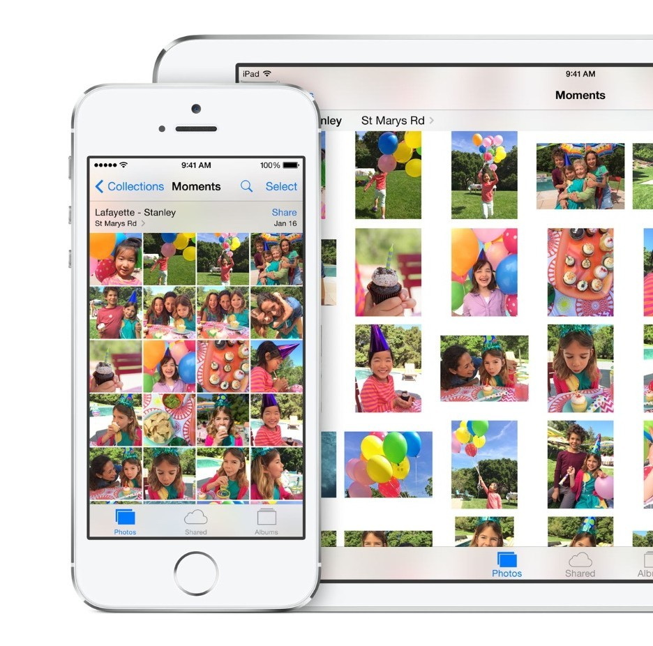 "Apple releases iOS 8 in its ""biggest release ever."" Photo from www.apple.com"