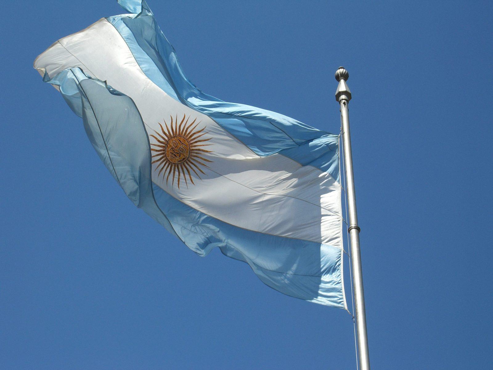 Flag of Argentina (Wikipedia photo)