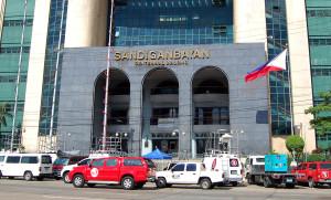 The main entrance of the Sandiganbayan Centennial Building in Quezon City. (Photo: Gil Calinga/PNA)