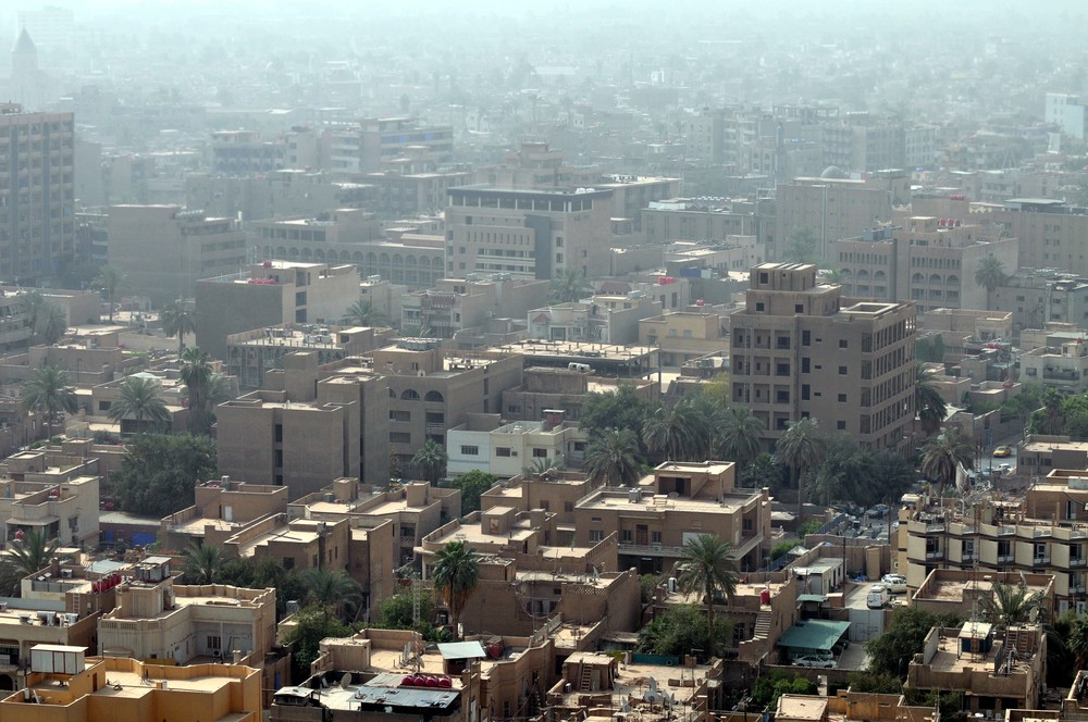 Iraqi capital of Baghdad. ShutterStock image