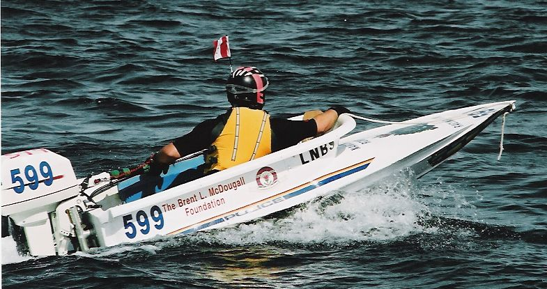 A Racing Bathtub Boat heads to the milling area for the 2004 Great Race in Nanaimo, BC. (Photo: Wikipedia)