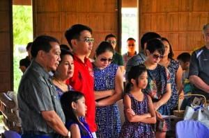 Binay Family. Photo courtesy of Balikbayan Magazine.
