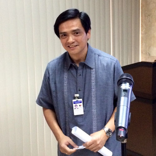 DFA Spokesperson Charles Jose. Photo courtesy of filipino.cri.cn