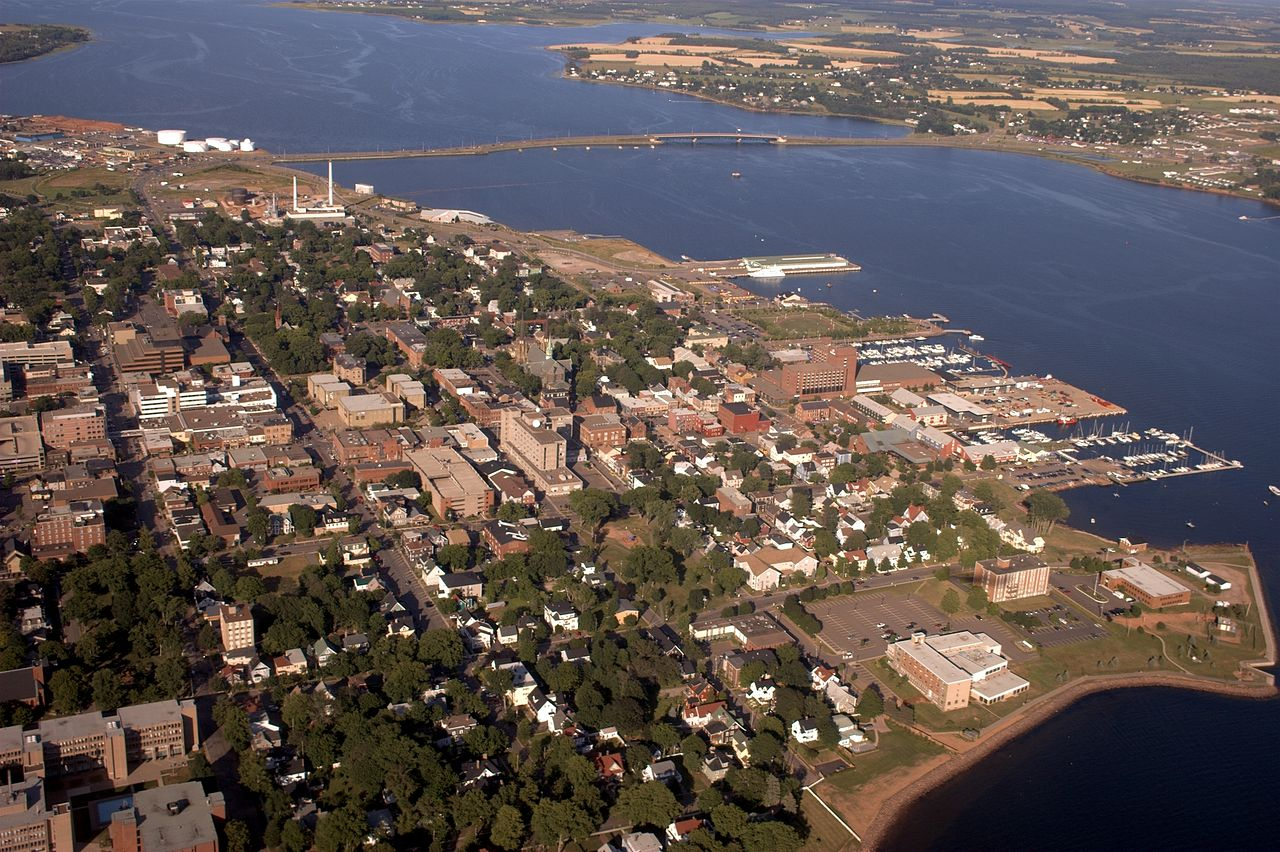 Downtown Charlottetown and the waterfront. Martin Cathrae / Wikipedia