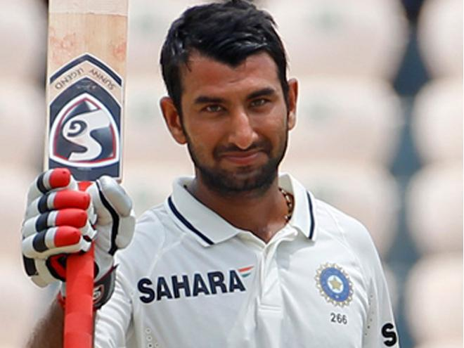 Cheteshwar Pujara. Photo from pardaphash.com.