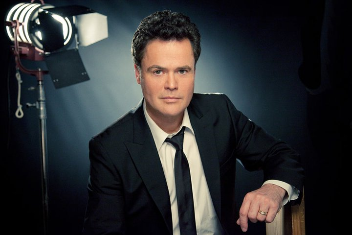 Donny Osmond. Photo from Donny Osmond's official Facebook page.