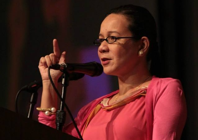 Sen. Grace Poe - Llamanzares. (Photo from Poe's official Facebook page)