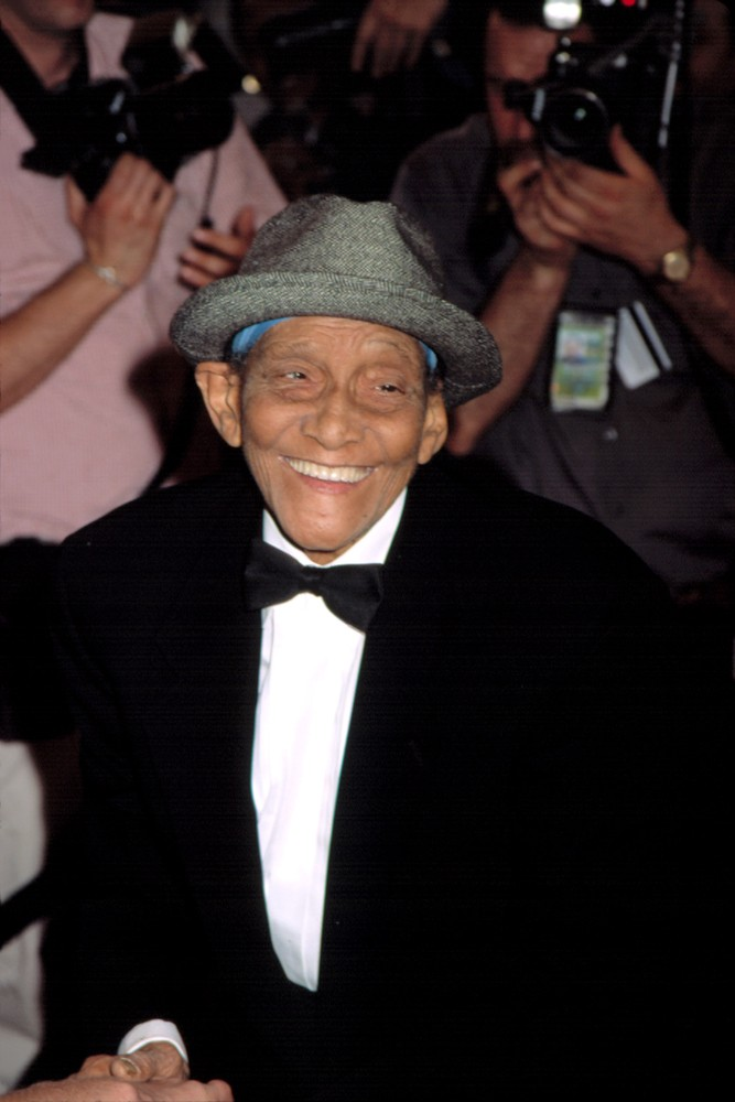 Jazz legend Jimmy Scott. Everett Collection / Shutterstock