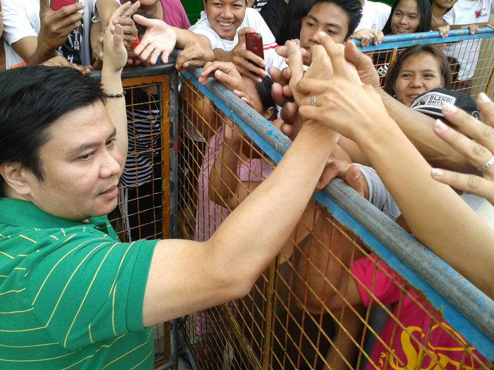 Sen. Jinggoy Estrada. Photo courtesy of Estrada's Facebook page.