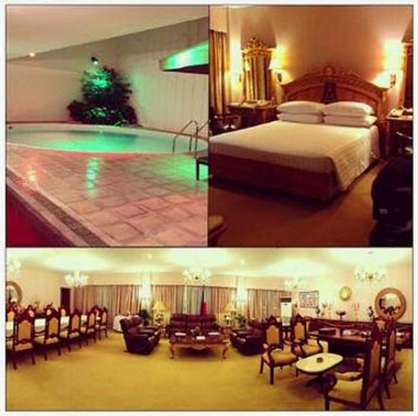 A night at Manila Hotel's Presidential Suite costs nearly PHP 100,000. Photo courtesy of Arpee Lazaro.