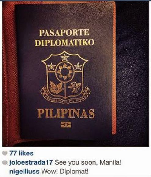 DIPLOMATIC. Under RA 8239, children of Philippine government officials can have a diplomat passport if the kid's 18 years old and below. Photo courtesy of Arpee Lazaro.