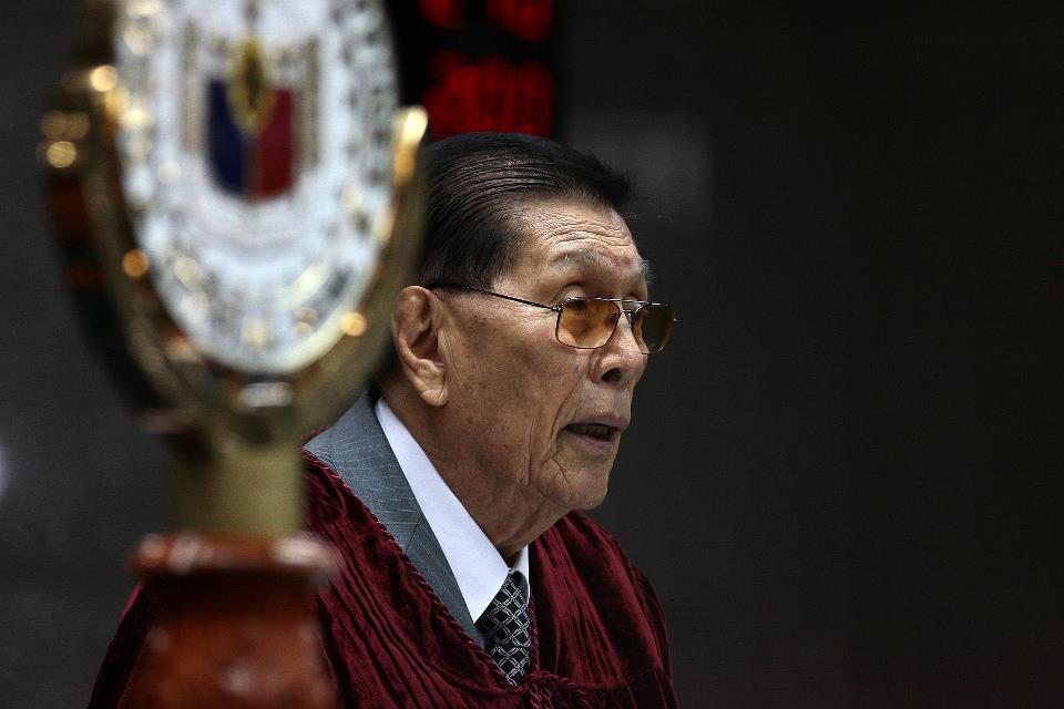 Sen. Juan Ponce Enrile. (Photo courtesy of Enrile's Facebook page.)