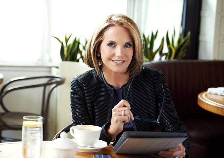 Journalist Katie Couric. Photo courtesy of Couric's official Facebook page.