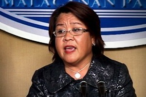 DOJ Sec. Leila De Lima. Photo courtesy of UNTV