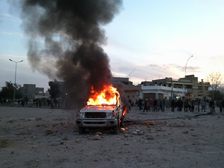 Early demonstrations of hostilities in Libya, 2011 STOCK PHOTO / Wikipedia Photo