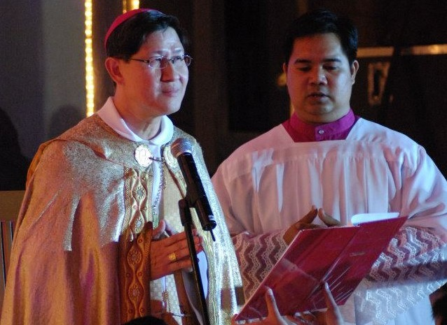 Manila Archbishop Cardinal Luis Antonio Tagle  (Photo from Tagle's official Facebook page)