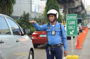 MMDA enforcer. Photo courtesy of MMDA's official Facebook page.
