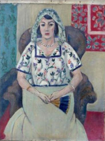 "Henri Matisse's ""Woman Sitting on an Armchair."" Wikipedia photo"