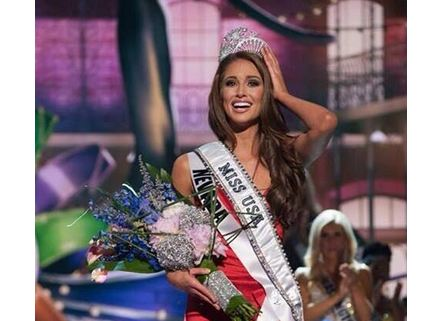 Miss USA 2014 Nia Sanchez from Nevada. Photo from Pageant News / Twitter