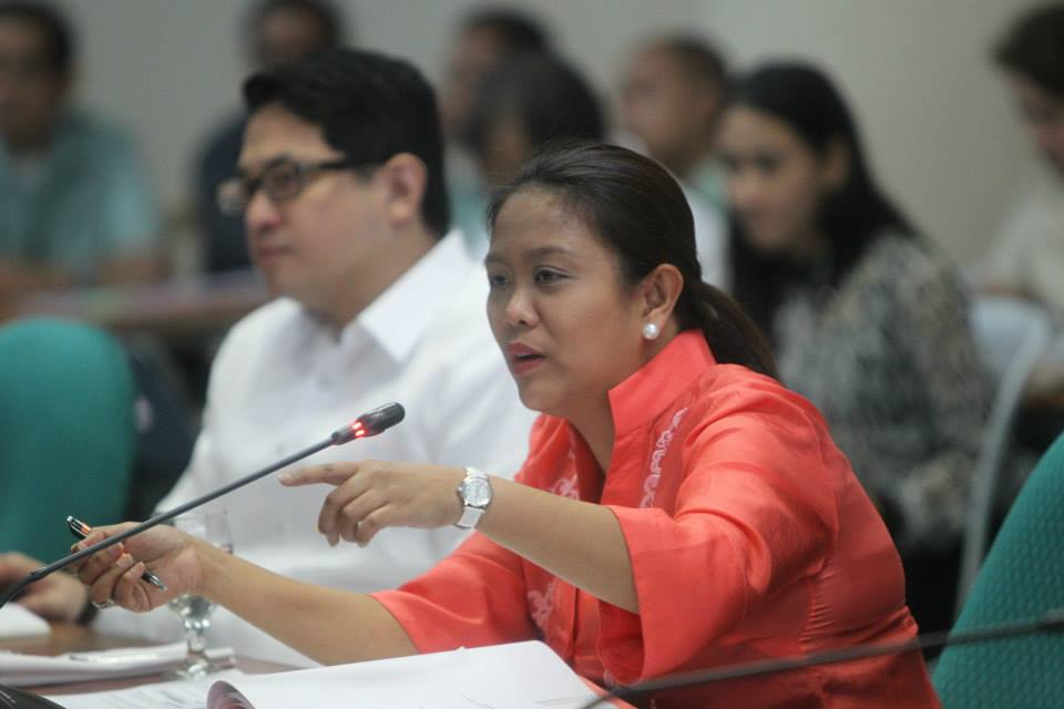 Sen. Nancy Binay. Photo courtesy of Binay's official Facebook page.