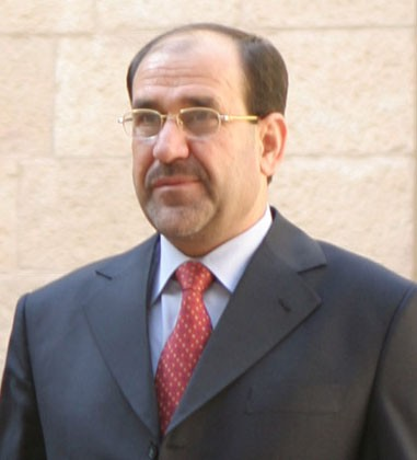 Iraq PM Nouri al-Maliki. Photo by Staff Sgt. James Sherrill / Wikipedia photo