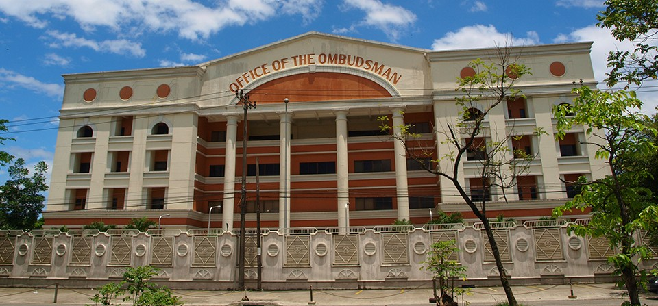Office of the Ombudsman in Quezon City. Photo courtesy of DGR Law Offices.