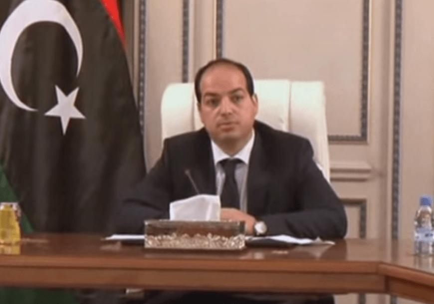 Libyan Prime Minister Ahmed Maiteeq. EuroNews screenshot.