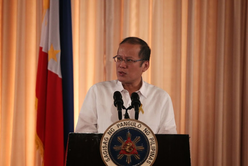 President Benigno S. Aquino III delivers his speech during the 2014 Government-Owned and Controlled Corporations (GOCC) Dividends Day at the Rizal Hall of the Malacañan Palace on June 09, 2014. Photo by Benhur Arcayan / Malacañang Photo Bureau.